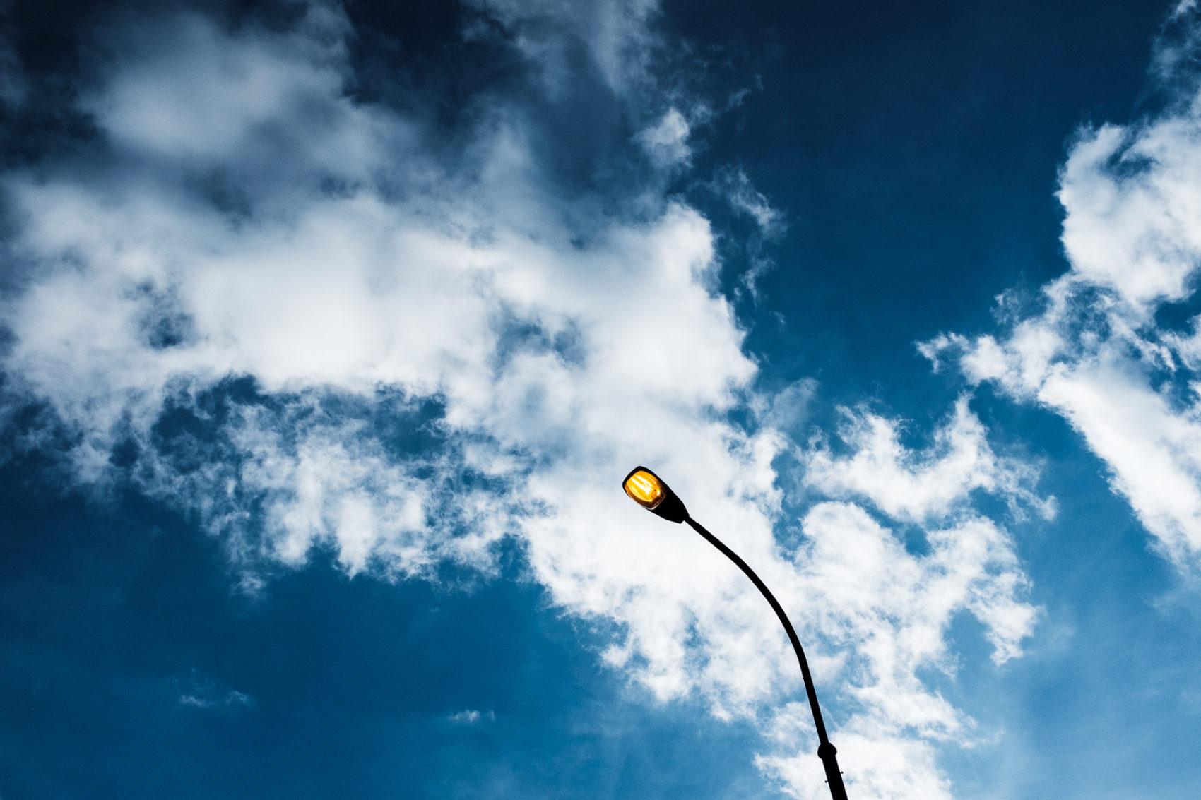 Jakub Kadlec lamp fuji x100f Blue